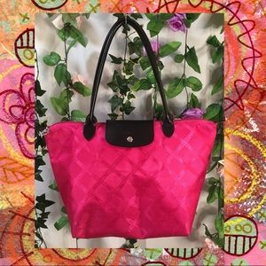 *UNBRANDED* Small hot pink tote 💗